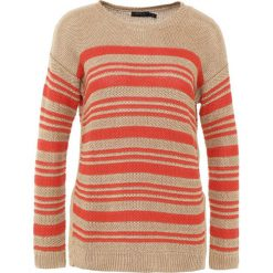Swetry klasyczne damskie: Polo Ralph Lauren Sweter tan/tomato