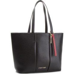 Shopper bag damskie: Torebka CALVIN KLEIN - City Leather Shopper K60K604476 001