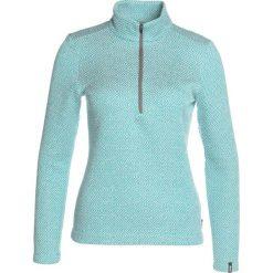 Bluzy damskie: Colmar HALF ZIP Bluza z polaru mineral green/ white
