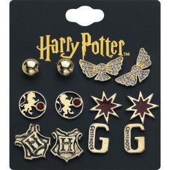 Harry Potter Gryffindor Kolczyki - Earpin złoty. Żółte kolczyki damskie Harry Potter, złote. Za 79,90 zł.