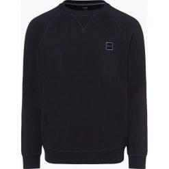 BOSS Casual - Męska bluza nierozpinana – Wyan, niebieski. Niebieskie bejsbolówki męskie BOSS Casual, l, prążkowane. Za 399,95 zł.