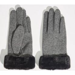 Akcesoria: Dzianinowe rękawiczki - Jasny szar