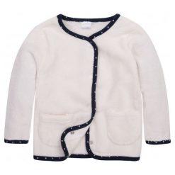 Bluzy dziewczęce rozpinane: Polarowa, rozpinana bluza dla niemowlaka