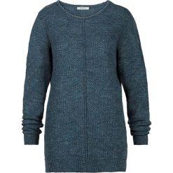 Swetry damskie: Sweter w kolorze morskim