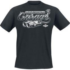 T-shirty męskie: Gas Monkey Garage Garage Exhaust T-Shirt czarny