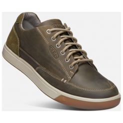 Keen Męskie Trampki Glenhaven Sneaker M, Canteen/Dark Olive, 45. Zielone trampki męskie marki Keen, ze skóry. Za 449,00 zł.