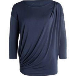 Bluzki damskie: Curare Yogawear TOGAFALTE Bluzka z długim rękawem night blue