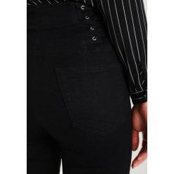 Topshop CORSET SIDE JAMIE Jeans Skinny Fit black. Czarne jeansy damskie marki Topshop. W wyprzedaży za 255,20 zł.
