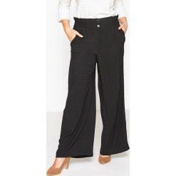 Spodnie z wysokim stanem: Szerokie spodnie z wysokim stanem