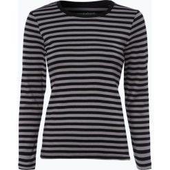 Brookshire - Damska koszulka z długim rękawem, czarny. Czarne t-shirty damskie brookshire, l, w paski, z dżerseju. Za 89,95 zł.