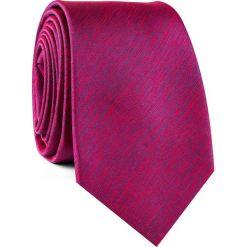 Krawat KWTR001800. Czerwone krawaty męskie Giacomo Conti, z mikrofibry. Za 69,00 zł.