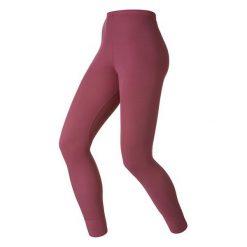 Odlo Spodnie Pants long Warm bordowe r. L. Czerwone spodnie sportowe damskie marki Odlo, l. Za 133,74 zł.