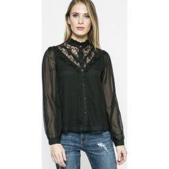 Vero Moda - Koszula. Czarne koszule wiązane damskie Vero Moda, l, z długim rękawem. W wyprzedaży za 69,90 zł.