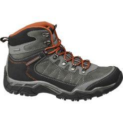 Trekkingowe buty męskie  Highland Creek popielate. Szare buty trekkingowe męskie Highland Creek, z materiału. Za 159,90 zł.