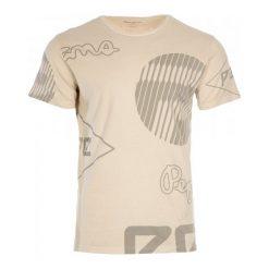 Pepe Jeans T-Shirt Męski Jost M Beżowy. Niebieskie t-shirty męskie z nadrukiem marki Oakley, na lato, z bawełny, eleganckie. W wyprzedaży za 149,00 zł.