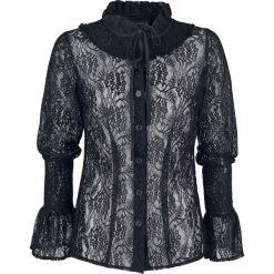 Bluzki asymetryczne: Gothicana by EMP Mary Louise Bluzka damska czarny