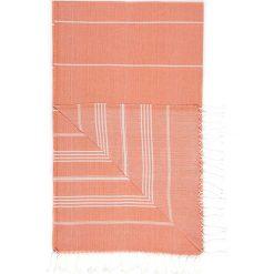 Chusta hammam w kolorze pomarańczowym - 180 x 100 cm. Czarne chusty damskie marki Hamamtowels, z bawełny. W wyprzedaży za 43,95 zł.