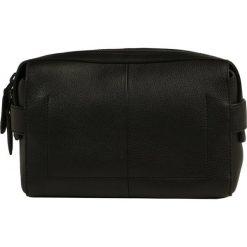 Kosmetyczki męskie: Calvin Klein DOUBLE TACK WASHBAG Kosmetyczka black