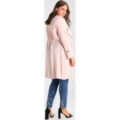 Płaszcze damskie pastelowe: Evans STUD DETAIL LONG LINE Płaszcz wełniany /Płaszcz klasyczny blush