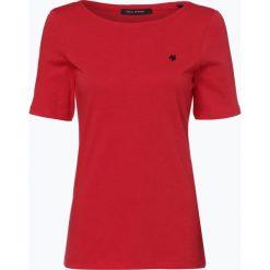 Marc O'Polo - T-shirt damski, czerwony. Czerwone t-shirty damskie Marc O'Polo, s, polo. Za 79,95 zł.