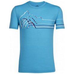 Odzież termoaktywna męska: Icebreaker Koszulka Sportowa Mens Tech Lite Ss Crewe Seismograph 7 Capri Xxl