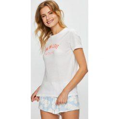Undiz - Top piżamowy. Białe piżamy damskie marki MEDICINE, z bawełny. W wyprzedaży za 39,90 zł.