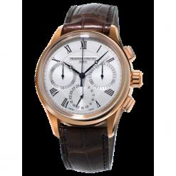 ZEGAREK FREDERIQUE CONSTANT Flyback Chronograph FC-760MC4H4. Szare zegarki męskie FREDERIC CONSTANT, ze stali. Za 18349,00 zł.