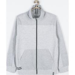 Bluza. Szare bluzy chłopięce rozpinane SKATE CLUB, w kolorowe wzory, z bawełny, z długim rękawem, długie. Za 95,90 zł.