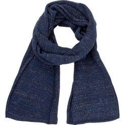 Szal LIU JO - Sciarpa Laminata 20x220 N67272 M0300 Dress Blue 94024. Niebieskie szaliki damskie Liu Jo, z materiału. W wyprzedaży za 189,00 zł.