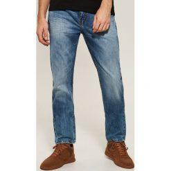 Jeansy regular fit - Niebieski. Niebieskie jeansy męskie regular marki QUECHUA, m, z elastanu. Za 139,99 zł.