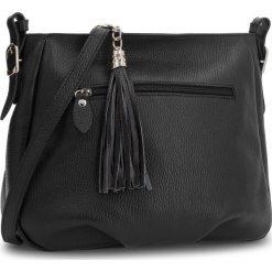 Torebka CREOLE - K10569 Czarny. Czarne torebki klasyczne damskie Creole, ze skóry. Za 229,00 zł.