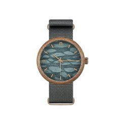 Drewniany zegarek new hoop 43 n056. Niebieskie zegarki męskie Neatbrand. Za 385,00 zł.