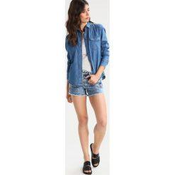 Bermudy damskie: Rich & Royal Szorty jeansowe denim blue