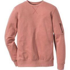 Bejsbolówki męskie: Bluza dresowa Slim Fit bonprix dymny brzoskwiniowy