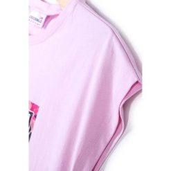 Coccodrillo - Top dziecięcy 128-158 cm. Białe bluzki dziewczęce marki COCCODRILLO, m, z bawełny, z okrągłym kołnierzem. Za 49,90 zł.