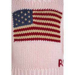 Polo Ralph Lauren AMERICAN Sweter french pink. Czerwone swetry dziewczęce Polo Ralph Lauren, z bawełny, polo. W wyprzedaży za 202,95 zł.