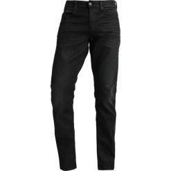 GStar 3301 STRAIGHT TAPERED Jeansy Zwężane slander black superstretch 3d aged. Szare jeansy męskie regular G-Star, z bawełny. Za 559,00 zł.