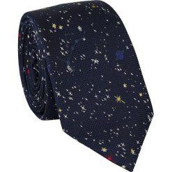 Jedwabny krawat KWWR000177. Czarne krawaty męskie Giacomo Conti, z jedwabiu. Za 129,00 zł.