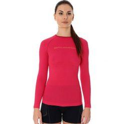 Bluzki asymetryczne: Brubeck Koszulka damska 3D Run Pro malinowa r. M (LS13140)