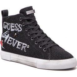 Sneakersy GUESS - FLPYE4 FAM12  BLACK. Czarne sneakersy damskie marki Guess, z materiału. Za 439,00 zł.
