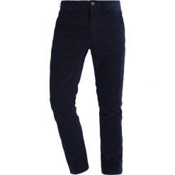 Chinosy męskie: Jack & Jones JJIMARCO JJENZO Spodnie materiałowe navy blazer