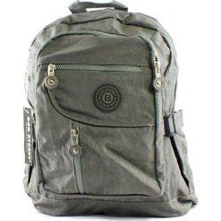 Szary plecak w sportowym stylu. Szare plecaki damskie marki Bag Street, z materiału, sportowe. Za 64,90 zł.