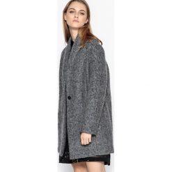 Płaszcze damskie pastelowe: Płaszcz półdługi 30% gotowanej wełny