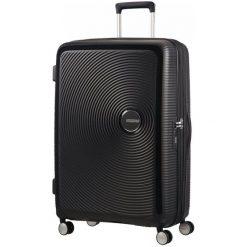 American Tourister Walizka Soundbox 77, Black. Czarne walizki marki American Tourister. W wyprzedaży za 649,00 zł.