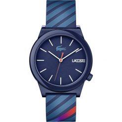 Lacoste - Zegarek 2010934. Niebieskie zegarki męskie Lacoste, szklane. Za 399,90 zł.