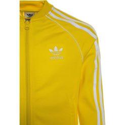 Adidas Originals Kurtka sportowa yellow. Szare kurtki dziewczęce sportowe marki adidas Originals, na co dzień, z nadrukiem, z bawełny, z okrągłym kołnierzem, proste. Za 199,00 zł.