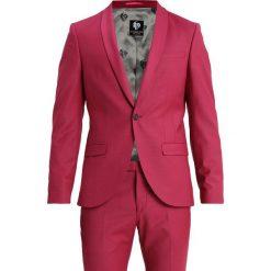 Twisted Tailor ELLROY SUIT SLIM FIT Garnitur raspberry. Czerwone garnitury Twisted Tailor, z elastanu. Za 1089,00 zł.