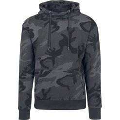 Bluzy męskie: Urban Classics High Neck Camo Hoodie Bluza z kapturem kamuflaż (Dark Camo)