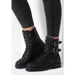 Czarne Botki What Love Is. Czarne buty zimowe damskie vices. Za 109,99 zł.
