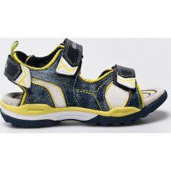 Geox - Sandały dziecięce. Szare sandały męskie skórzane marki Geox. W wyprzedaży za 219,90 zł.